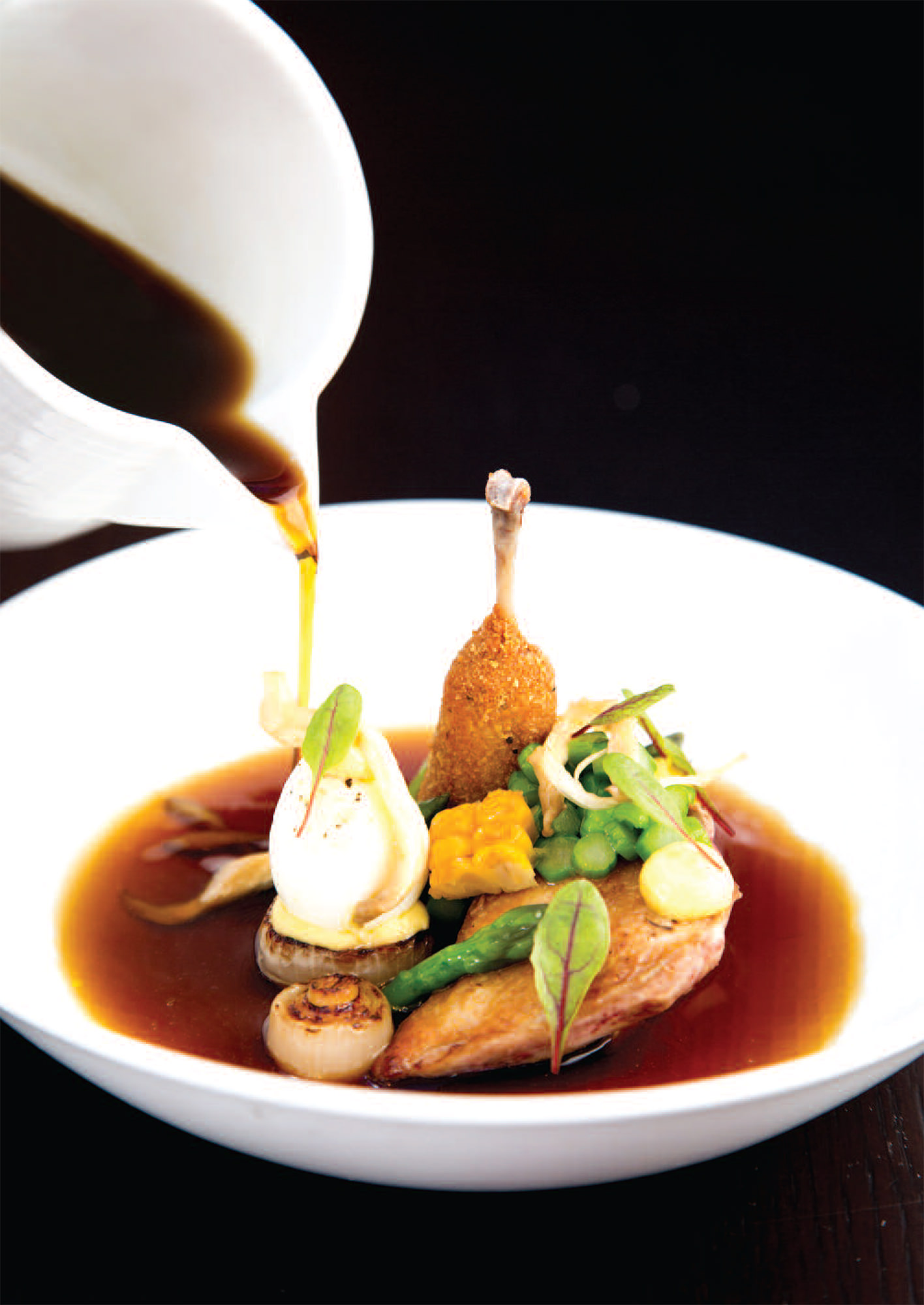 quail sweetcorn soy u0026 mushroom broth u2013 the adamson